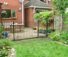 Bow Top Fencing