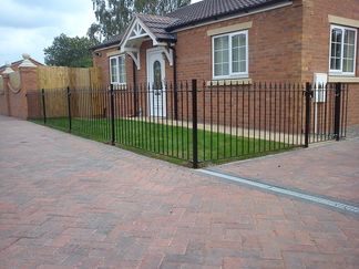Vertical Bar Fencing